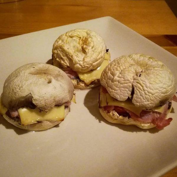 burger de champignon (apero)